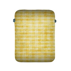 Spring Yellow Gingham Apple Ipad 2/3/4 Protective Soft Cases