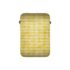 Spring Yellow Gingham Apple Ipad Mini Protective Soft Cases