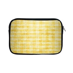Spring Yellow Gingham Apple iPad Mini Zipper Cases