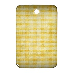 Spring Yellow Gingham Samsung Galaxy Note 8.0 N5100 Hardshell Case