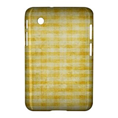 Spring Yellow Gingham Samsung Galaxy Tab 2 (7 ) P3100 Hardshell Case