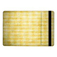 Spring Yellow Gingham Samsung Galaxy Tab Pro 10 1  Flip Case
