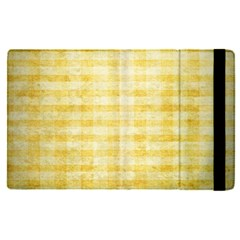 Spring Yellow Gingham Apple Ipad Pro 12 9   Flip Case