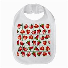 Strawberries Pattern Bib
