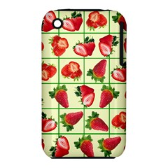 Strawberries Pattern iPhone 3S/3GS