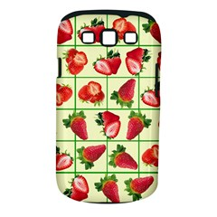 Strawberries Pattern Samsung Galaxy S III Classic Hardshell Case (PC+Silicone)
