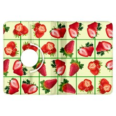 Strawberries Pattern Kindle Fire HDX Flip 360 Case