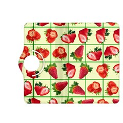 Strawberries Pattern Kindle Fire HDX 8.9  Flip 360 Case