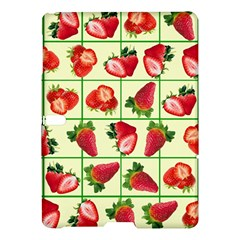 Strawberries Pattern Samsung Galaxy Tab S (10.5 ) Hardshell Case