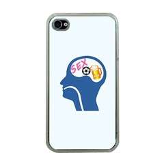 Male Psyche Apple iPhone 4 Case (Clear)