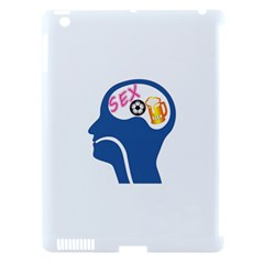 Male Psyche Apple iPad 3/4 Hardshell Case (Compatible with Smart Cover)