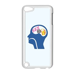 Male Psyche Apple iPod Touch 5 Case (White)