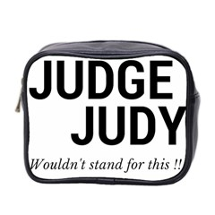 Judge judy wouldn t stand for this! Mini Toiletries Bag 2-Side