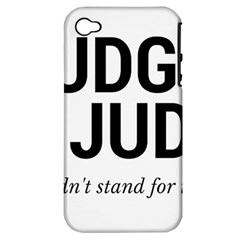 Judge judy wouldn t stand for this! Apple iPhone 4/4S Hardshell Case (PC+Silicone)