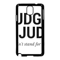 Judge judy wouldn t stand for this! Samsung Galaxy Note 3 Neo Hardshell Case (Black)