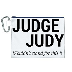 Judge judy wouldn t stand for this! Canvas Cosmetic Bag (XL)