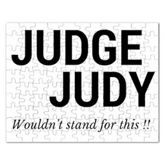 Judge judy wouldn t stand for this! Rectangular Jigsaw Puzzl