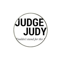 Judge judy wouldn t stand for this! Hat Clip Ball Marker (10 pack)