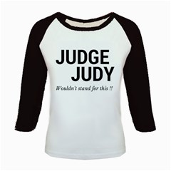 Judge judy wouldn t stand for this! Kids Baseball Jerseys