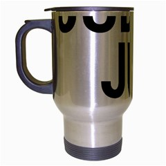 Judge judy wouldn t stand for this! Travel Mug (Silver Gray)