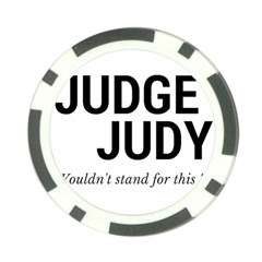 Judge judy wouldn t stand for this! Poker Chip Card Guard (10 pack)