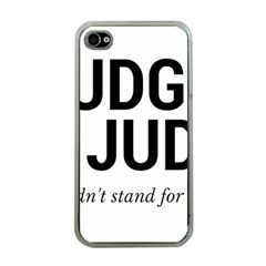Judge judy wouldn t stand for this! Apple iPhone 4 Case (Clear)