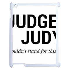 Judge judy wouldn t stand for this! Apple iPad 2 Case (White)