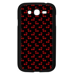 Alice Blue Quatrefoil in an English Country Garden Samsung Galaxy Grand DUOS I9082 Case (Black)