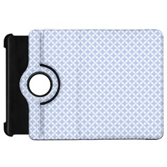 Alice Blue Quatrefoil in an English Country Garden Kindle Fire HD 7