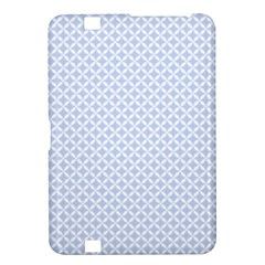 Alice Blue Quatrefoil in an English Country Garden Kindle Fire HD 8.9