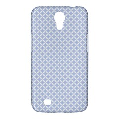 Alice Blue Quatrefoil in an English Country Garden Samsung Galaxy Mega 6.3  I9200 Hardshell Case
