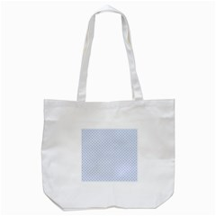 Alice Blue Quatrefoil In An English Country Garden Tote Bag (white)