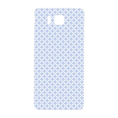 Alice Blue Quatrefoil in an English Country Garden Samsung Galaxy Alpha Hardshell Back Case