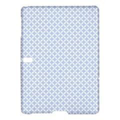 Alice Blue Quatrefoil in an English Country Garden Samsung Galaxy Tab S (10.5 ) Hardshell Case