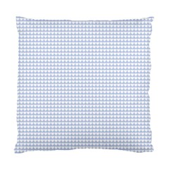 Alice Blue Hearts in an English Country Garden Standard Cushion Case (One Side)