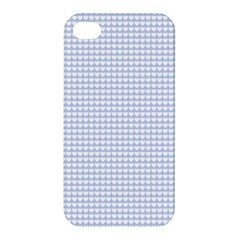 Alice Blue Hearts in an English Country Garden Apple iPhone 4/4S Premium Hardshell Case