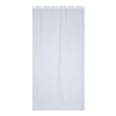 Alice Blue Lattice in an English Country Garden Shower Curtain 36  x 72  (Stall)