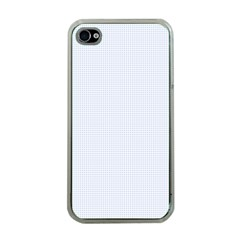 Alice Blue Lattice in an English Country Garden Apple iPhone 4 Case (Clear)