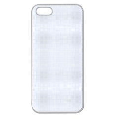 Alice Blue Lattice in an English Country Garden Apple Seamless iPhone 5 Case (Clear)