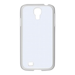 Alice Blue Lattice in an English Country Garden Samsung GALAXY S4 I9500/ I9505 Case (White)