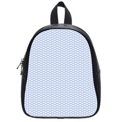 Alice Blue White Kisses in English Country Garden School Bags (Small)