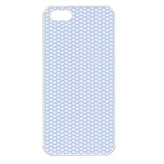 Alice Blue White Kisses in English Country Garden Apple iPhone 5 Seamless Case (White)
