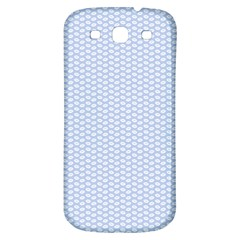 Alice Blue White Kisses in English Country Garden Samsung Galaxy S3 S III Classic Hardshell Back Case