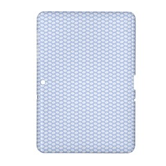 Alice Blue White Kisses in English Country Garden Samsung Galaxy Tab 2 (10.1 ) P5100 Hardshell Case