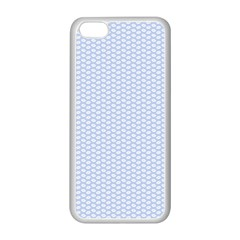 Alice Blue White Kisses in English Country Garden Apple iPhone 5C Seamless Case (White)
