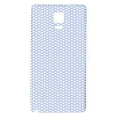 Alice Blue White Kisses in English Country Garden Galaxy Note 4 Back Case