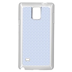 Alice Blue White Kisses in English Country Garden Samsung Galaxy Note 4 Case (White)
