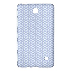 Alice Blue White Kisses in English Country Garden Samsung Galaxy Tab 4 (7 ) Hardshell Case