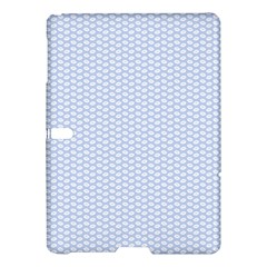 Alice Blue White Kisses in English Country Garden Samsung Galaxy Tab S (10.5 ) Hardshell Case