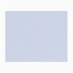 Alice Blue Pinstripe in an English Country Garden Small Glasses Cloth (2-Side)